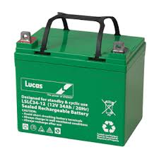 Lucas 80ah battery