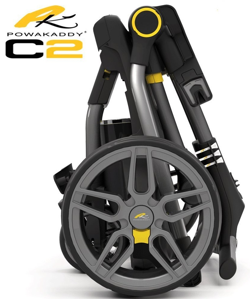 Powakaddy C2 Digital Lithium Second Hand Trolley Package - Top Caddy