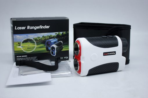 TOP CADDY TC1 RANGEFINDER WHITE WITH BOX