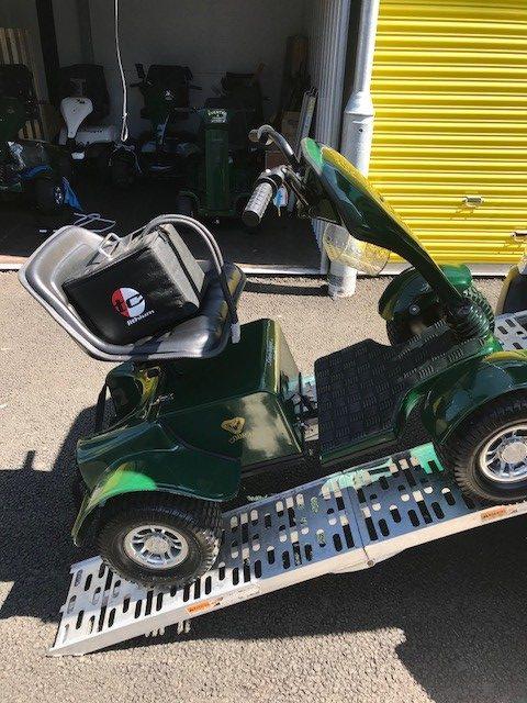 Grasshopper Second Hand Golf Buggies - Top Caddy