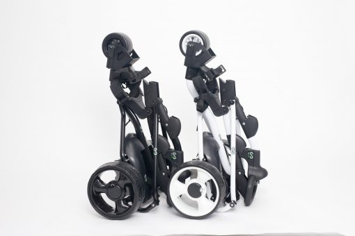 GO GOLF TROLLEY TWIN UPRIGHT