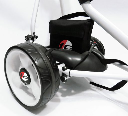TOP CADDY TROLLEY WHITE 5